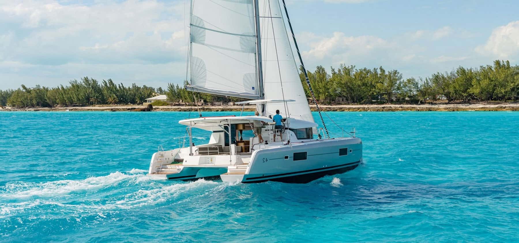 Catamaran Charter Britis Virgin Islands BVI main page slider three
