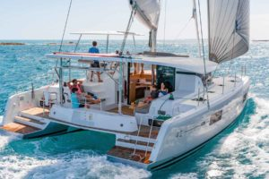 Catamaran Charter BVI what is a multihull catamaran first