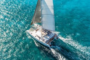Catamaran Charter BVI what is a multihull catamaran second