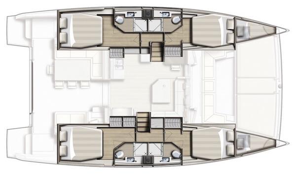 Bali 4.3 Catamaran for Charter British Virgin Islands BVI
