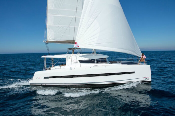 Bali 4.5 Catamaran for Charter British Virgin Islands BVI